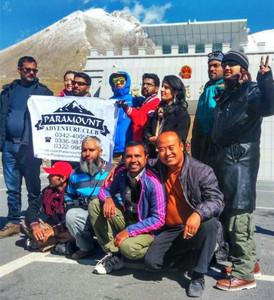 带领外国友人游新疆喀什